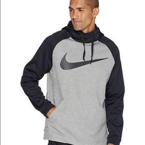 Men's Nike Dri-Fit Thermal Hoodie Swoosh Logo/ M